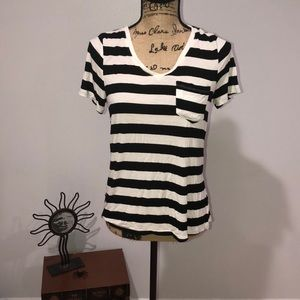 Stripped loose fit tee